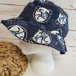 Kentucky Derby bucket hat logo horse equine